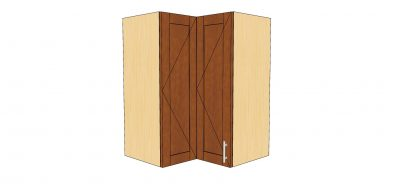 90 degree wall cabinet