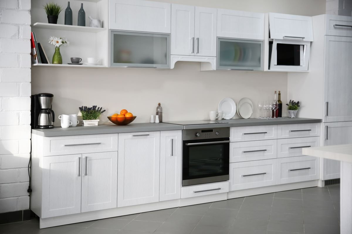CARB compliant finished cabinets
