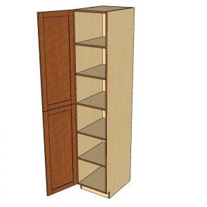open tall 1 door cabinet